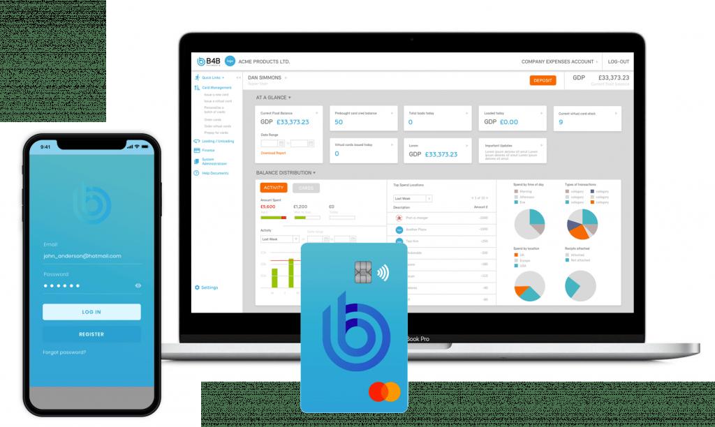 B4B Payments platform